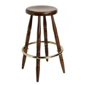 Juno Backless Wood Barstool