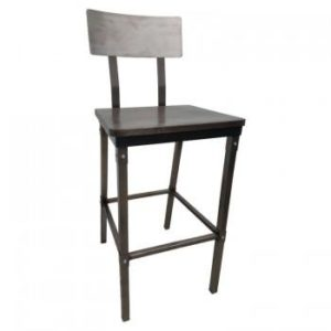 Bolt Metal Barstool
