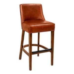 Celine Wood Barstool