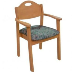 Brandt-A Stacking Arm Chair