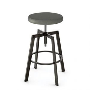 Industrial Backless Barstool
