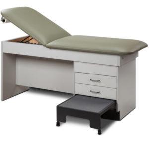 Macintosh Treatment Table With Stool