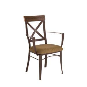 Mack Metal Arm Chair