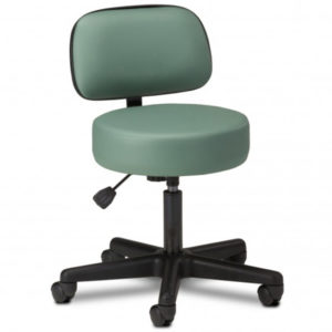 Maderia Pneumatic Stool with Backrest