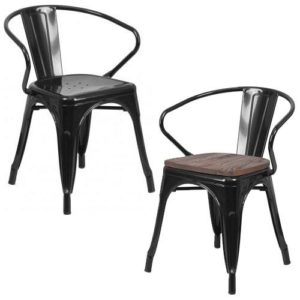 Mantis Metal Arm Chair