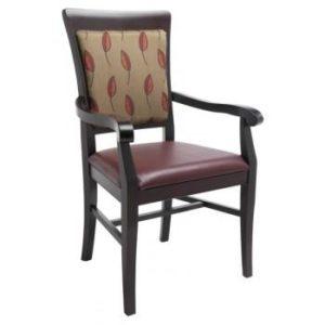 Phiona Wood Arm Chair