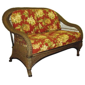 The Gypsy Wicker Loveseat