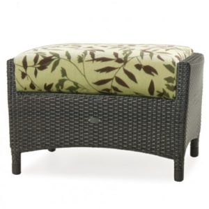 Wicker Outdoor Ottoman