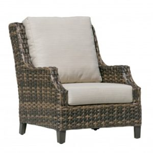 Fox Wicker Club Chair