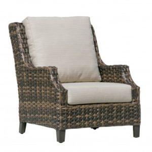 Fox Wicker Club Chair