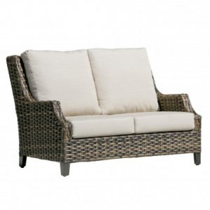 Fox Wicker Love Seat