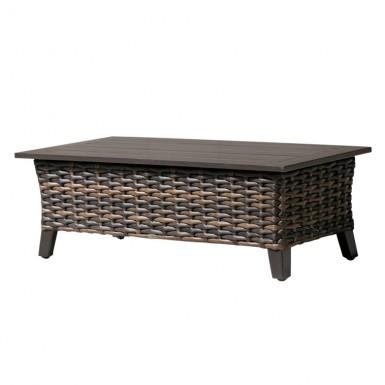 Fox Wicker Coffee Table