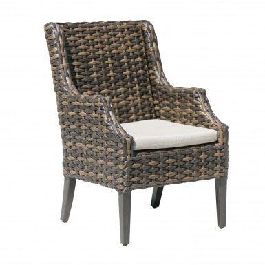 Fox Wicker Arm Chair