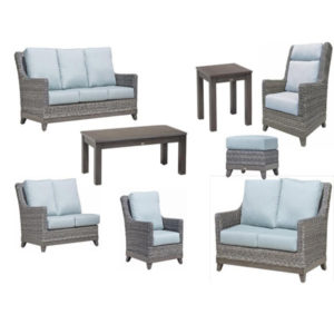 Chutes Outdoor Patio Set
