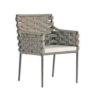 Continental Woven Arm Chair