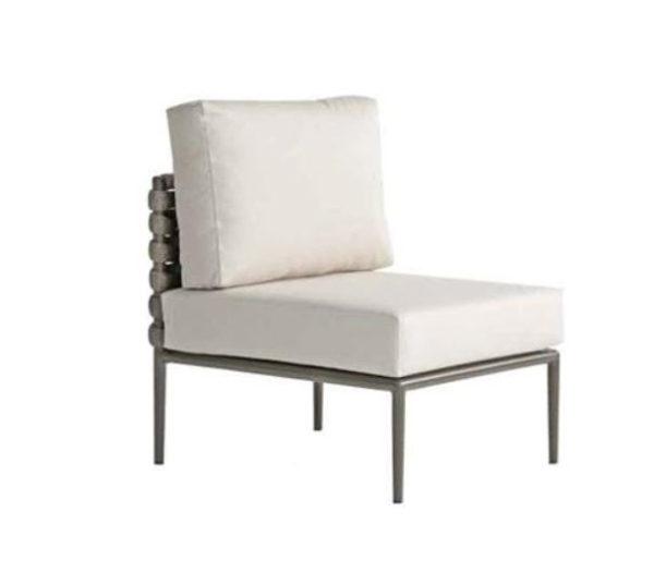 Continental Armless Chair