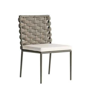 Continental Woven Side Chair