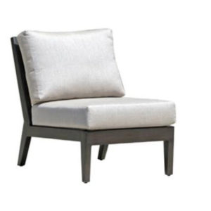 Lucy Outdoor Armless Chair