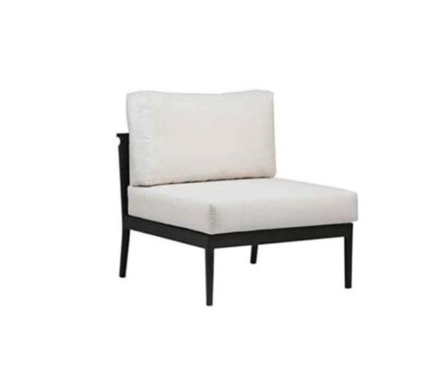 Mandy Outdoor Armless Chair