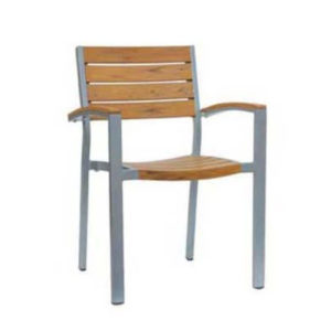 Oasis Stacking Arm Chair