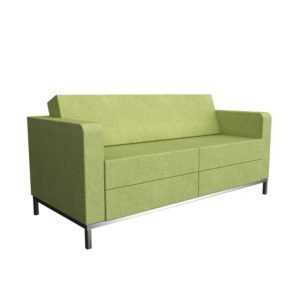 Edge Lounge Sofa Green