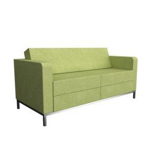 Edge Lounge Sofa Green