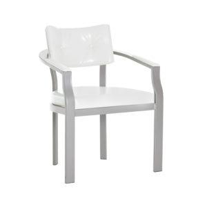 Dove Metal Armchair