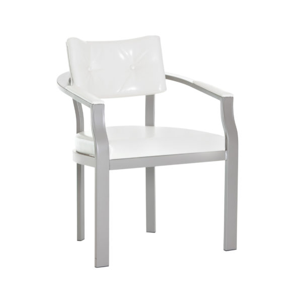 Dove Metal Armchair