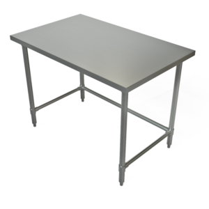"""Work Table, 48"""" x 36"""", Stainless Steel Top"""