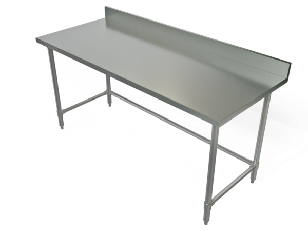 Work Table, 72 x 24, Stainless Steel Top