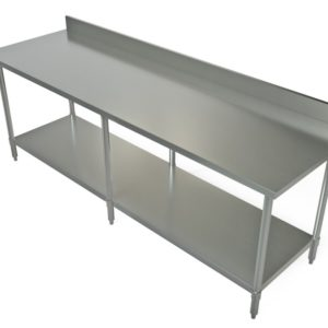 Work Table, 96x 30, Stainless Steel Top1
