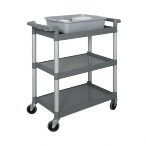 "Bus Cart, 32"" x 16"", 3-Tier"