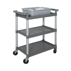 "Bus Cart, 36"" x 18"", 3-Tier"