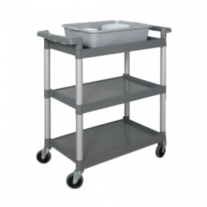 "Bus Cart, 36"" x 24"", 3-Tier"