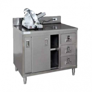 "Cabinet, 48"" x 30"", Slicer Stand"