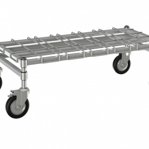 """Channel Dunnage Rack, 24"""" x 18""""Mobile"""
