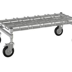 """Channel Dunnage Rack, 36"""" x 18""""Mobile"""