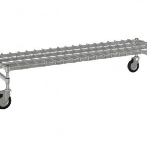 """Channel Dunnage Rack, 48"""" x 18""""Mobile"""