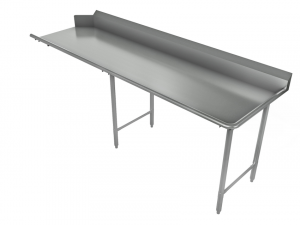 "Clean Dishtable, Straight, Right, 120"" x 30"""