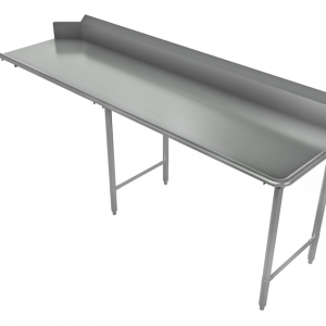 """Clean Dishtable, Straight, Right, 120"""" x 30"""""""