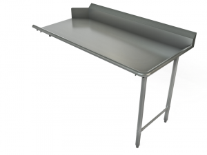 """Clean Dishtable, Straight, Right, 72"""" x 30"""""""