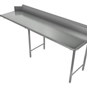 """Clean Dishtable, Straight, Right, 96"""" x 30"""""""