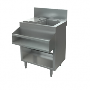 "Cocktail Mix Unit, with sink, 36"" x24"""