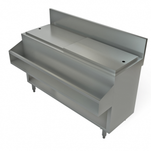 "Cocktail Mix Unit, without sink, 60"" x24"""
