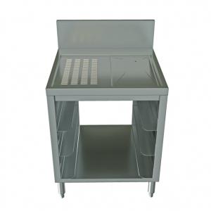"""Glass Rack Storage Cabinet, 24"""" x 24"""""""