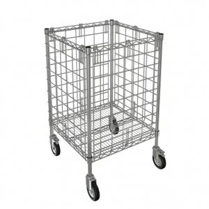 """Linen Dump Cart, 24"""" x 24"""""""