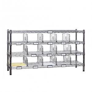 "Mail Sorting Rack, 48"" x 14"""