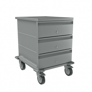 Mobile Triple Drawer Unit