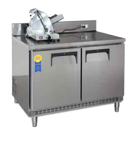 "Refrigerated Base, 96"" x 30"", Slicer Stand"