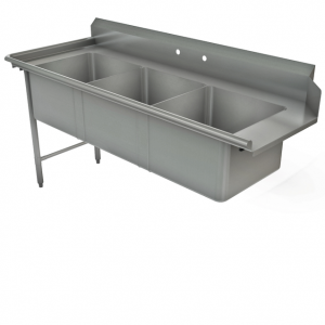Soiled Pot Dish Table, For Upright Left Dishwasher